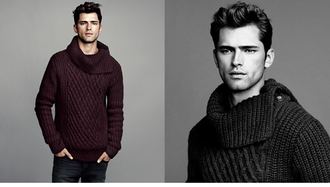 LOOKBOOK- Sean O'Pry in Winter Knits for H&M 2013. www.imageamplified.com, Image Amplified (3)