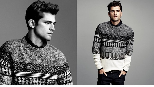 LOOKBOOK- Sean O'Pry in Winter Knits for H&M 2013. www.imageamplified.com, Image Amplified (4)