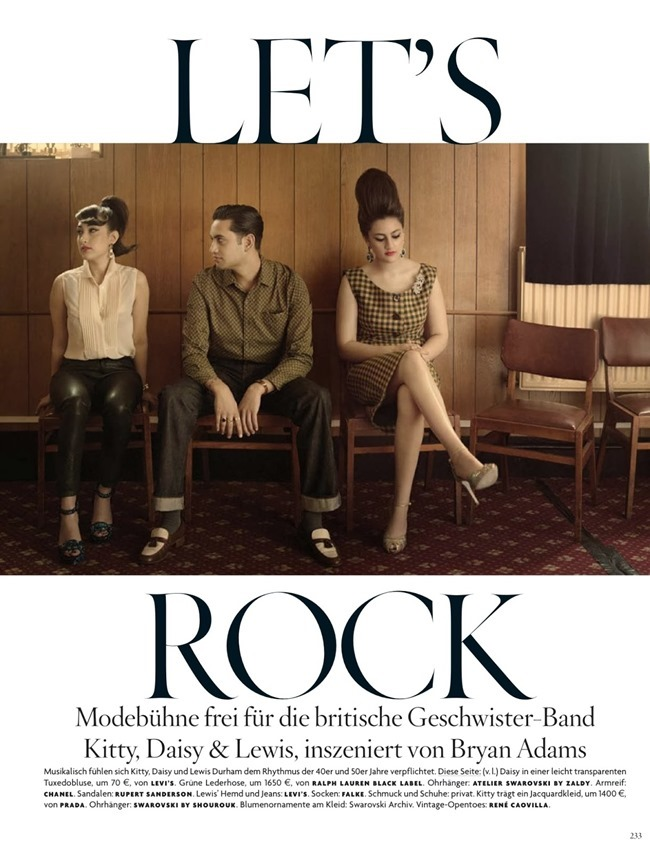 VOGUE GERMANY- Kitty, Daisy & Lewis in Le'ts Rock by Bryan Adams. Christiane Arp, November 2013, www.imageamplified.com, Image Amplified (1)