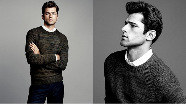 LOOKBOOK- Sean O'Pry in Winter Knits for H&M 2013. www.imageamplified.com, Image Amplified (1)