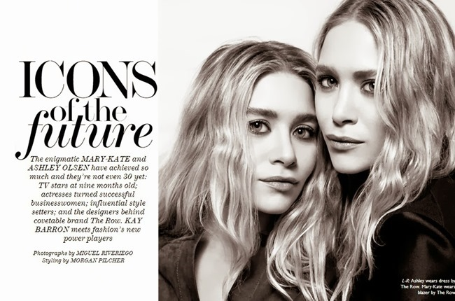 THE EDIT MAGAZINE- Mary-Kate & Ashley Olsen in Icons of the Future by Miguel Reveriego. Morgan Pilcher, October 2013, www.imageamplified.com, Image Amplified (1)