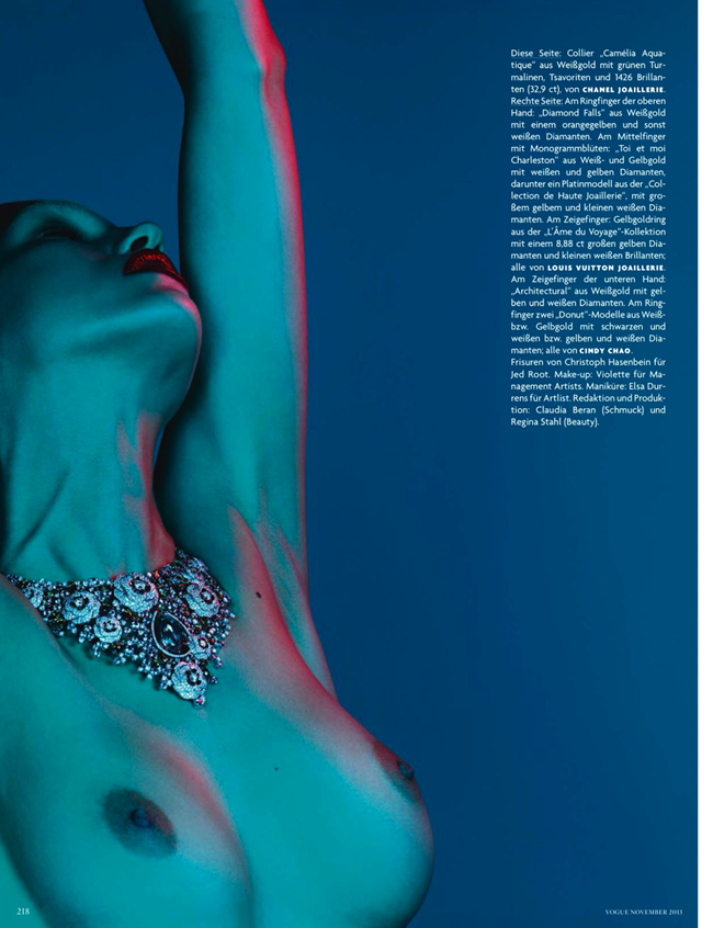 VOGUE GERMANY- Samantha Gradovielle in Pure Passion by Ben Hassett. November 2013, www.imageamplified.com, Image Amplified (6)