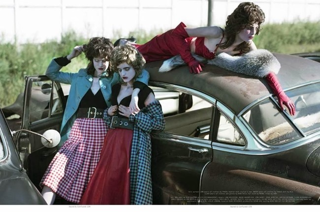 DAZED & CONFUSED MAGAZINE- Disturbia by Jeff Bark. Robbie Spencer, November 2013, www.imageamplified.com, Image Amplified