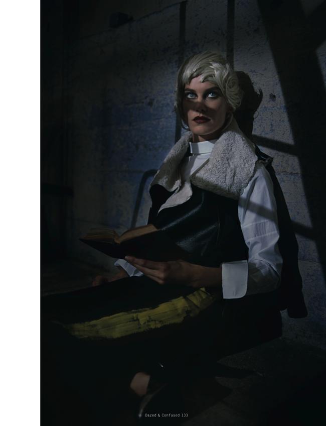 DAZED & CONFUSED MAGAZINE- Delfine Bafort in The Witching Hour by Vincent Van De Wijngaard. Agata Belcen, November 2013, www.imageamplified.com, Image Amplified (3)