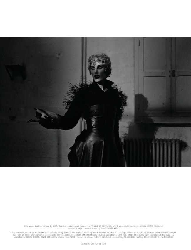 DAZED & CONFUSED MAGAZINE- Delfine Bafort in The Witching Hour by Vincent Van De Wijngaard. Agata Belcen, November 2013, www.imageamplified.com, Image Amplified (6)