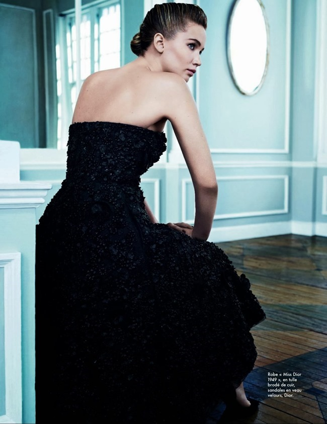 ELLE FRANCE- Jennifer Lawrence in Fair Play by Emma Summerton. October 2013, www.imageamplified.com, Image Amplified (1)