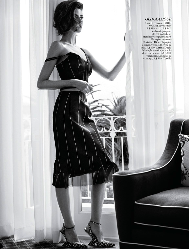 HARPER'S BAZAAR BRAZIL- Cristina Hermann in Hotel De Estilo by Gui Paganini. Flavia Lafer, October 2013, www.imageamplified.com, Image Amplified (2)
