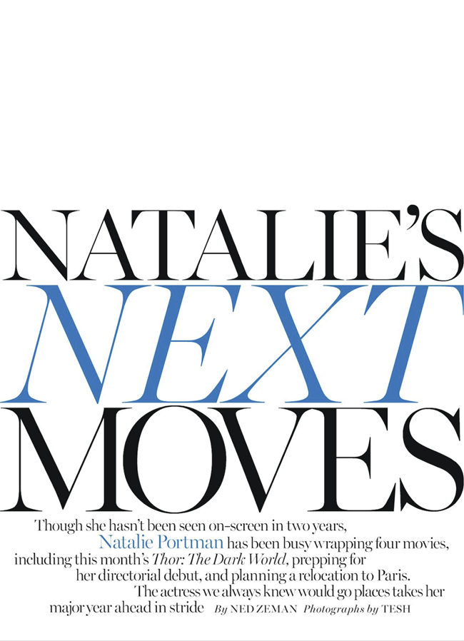 MARIE CLAIRE MAGAZINE- Natalie Portman in Natalie's Next Moves by Tesh. Alison Edmond, November 2013, www.imageamplified.com, Image Amplified (2)