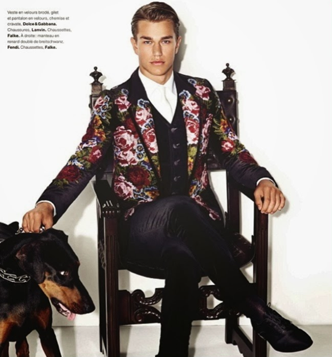 NUMERO HOMME- Laurin Krausz by Matthias Vriens-McGrath. Fall 2013, www.imageamplified.com, Image Amplified (7)