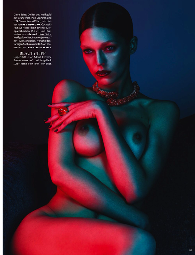 VOGUE GERMANY- Samantha Gradovielle in Pure Passion by Ben Hassett. November 2013, www.imageamplified.com, Image Amplified (3)
