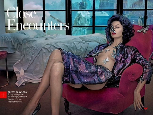VOGUE MAGAZINE- Karlie Kloss by Steven Klein, November 2013, www.imageamplified.com, Image Amplified