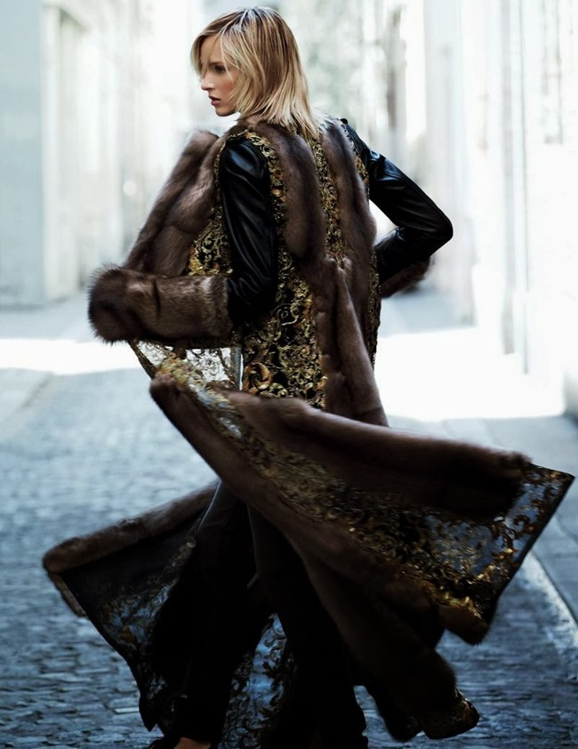 VOGUE RUSSIA- Daria Strokous in Along the Street by Patrick Demarchelier. Olga Dunina, November 2013, www.imageamplified.com, Image Amplified (3)