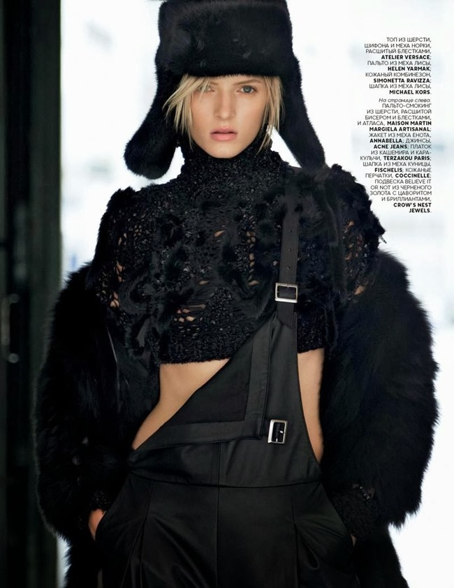 VOGUE RUSSIA- Daria Strokous in Along the Street by Patrick Demarchelier. Olga Dunina, November 2013, www.imageamplified.com, Image Amplified (4)
