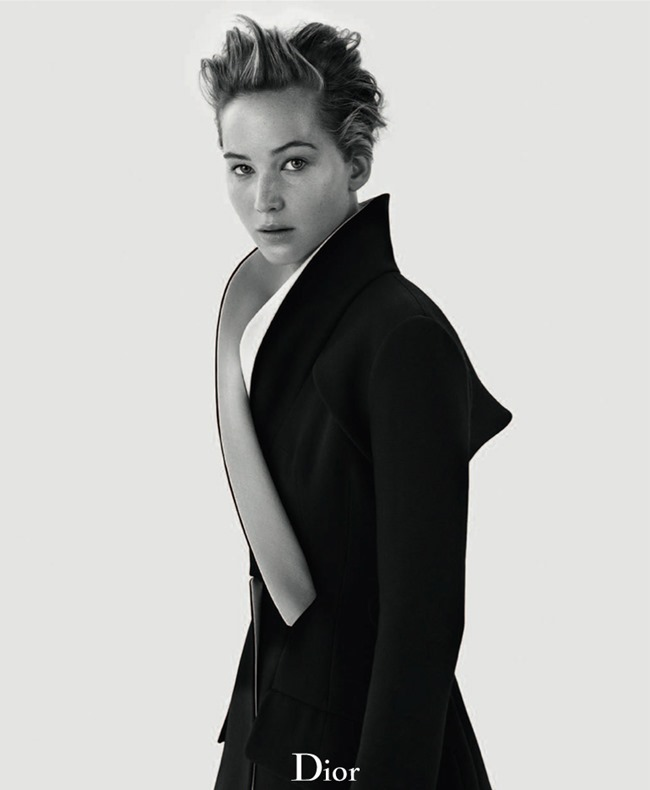 DIOR MAGAZINE- Jennifer Lawrence by Mikael Jansson. Fall 2013, www.imageamplified.com, Image Amplified