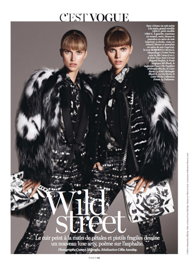 VOGUE PARIS- Maryna Linchuk & Cato Van Ee by Cuneyt Akeroglu. Celia Azoulay, November 2013, www.imageamplified.com, Image Amplified (2)