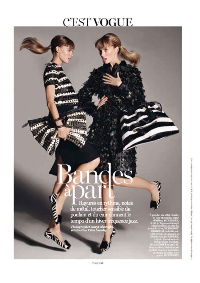 VOGUE PARIS- Maryna Linchuk & Cato Van Ee by Cuneyt Akeroglu. Celia Azoulay, November 2013, www.imageamplified.com, Image Amplified (3)