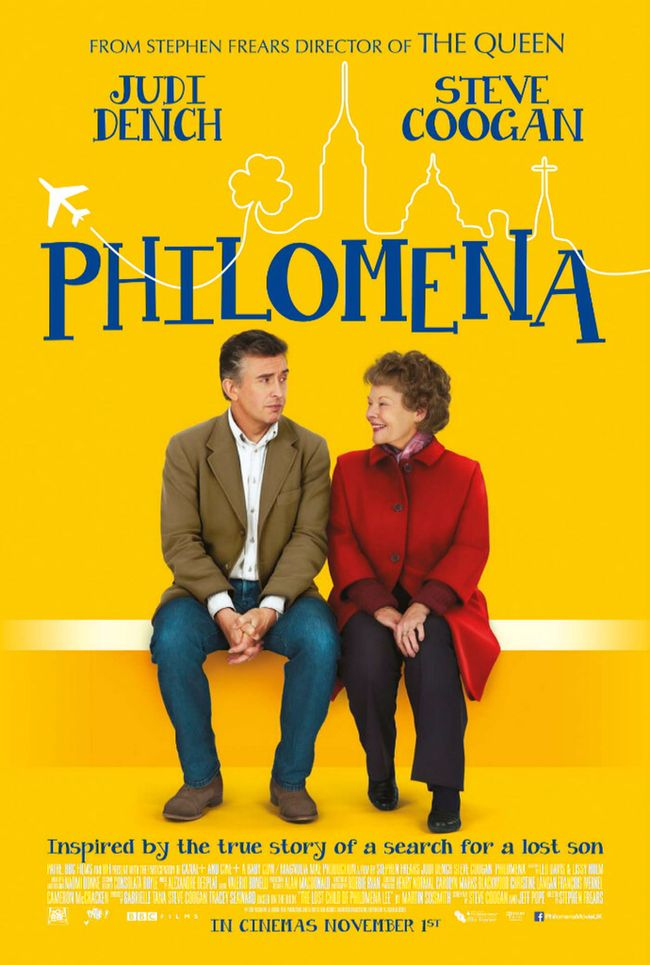 CINEMA SCAPE: Philomena by Stephen Frears Starring Judi Dench & Steve Coogan. In Theaters November 1, 2013