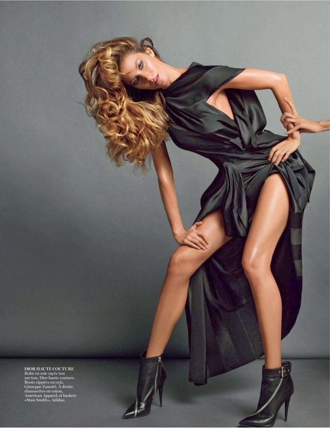 VOGUE PARIS- Gisele Bundchen in Body Double by Inez & Vinoodh. Emmanuelle Alt, November 2013, www.imageamplified.com, Image Amplified (3)