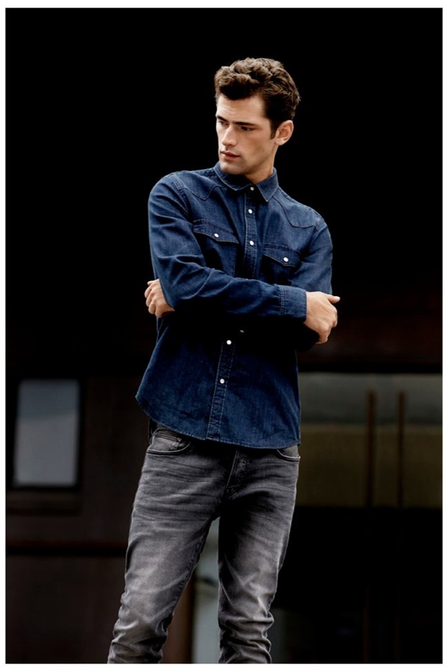 CAMPAIGN- Sean O'Pry for H&M Fall 2013 by David Roemer. www.imageamplified.com, Image Amplified (7)