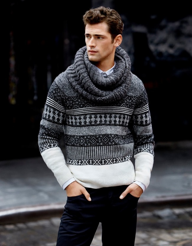 CAMPAIGN- Sean O'Pry for H&M Fall 2013 by David Roemer. www.imageamplified.com, Image Amplified