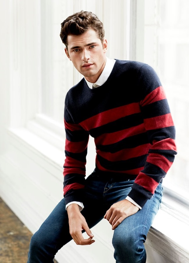 CAMPAIGN- Sean O'Pry for H&M Fall 2013 by David Roemer. www.imageamplified.com, Image Amplified (1)