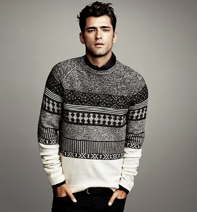 CAMPAIGN- Sean O'Pry in Winter Knits for H&M Fall 2013. www.imageamplified.com, Image Amplified (10)