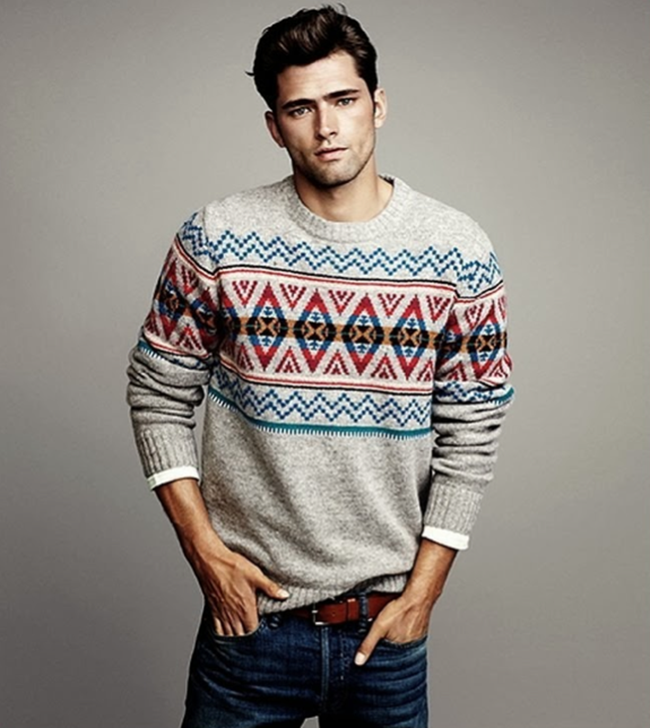 CAMPAIGN- Sean O'Pry in Winter Knits for H&M Fall 2013. www.imageamplified.com, Image Amplified (8)