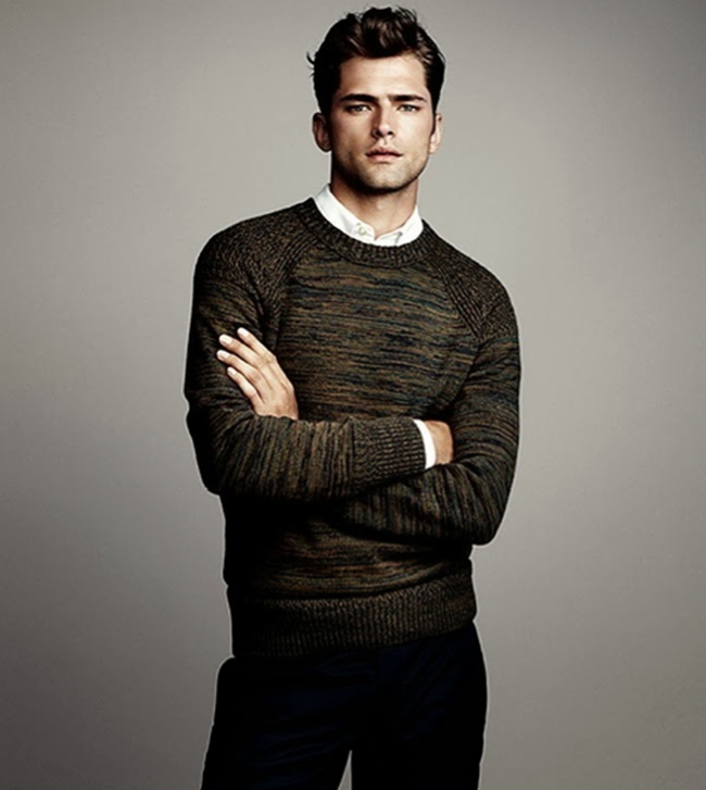 CAMPAIGN- Sean O'Pry in Winter Knits for H&M Fall 2013. www.imageamplified.com, Image Amplified (9)