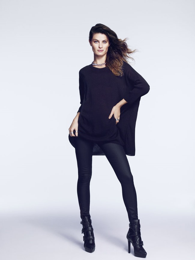 CAMPAIGN- Isabeli Fontana for H&M Fall 2013 by Andrew Yee. www.imageamplified.com, Image Amplified (7)
