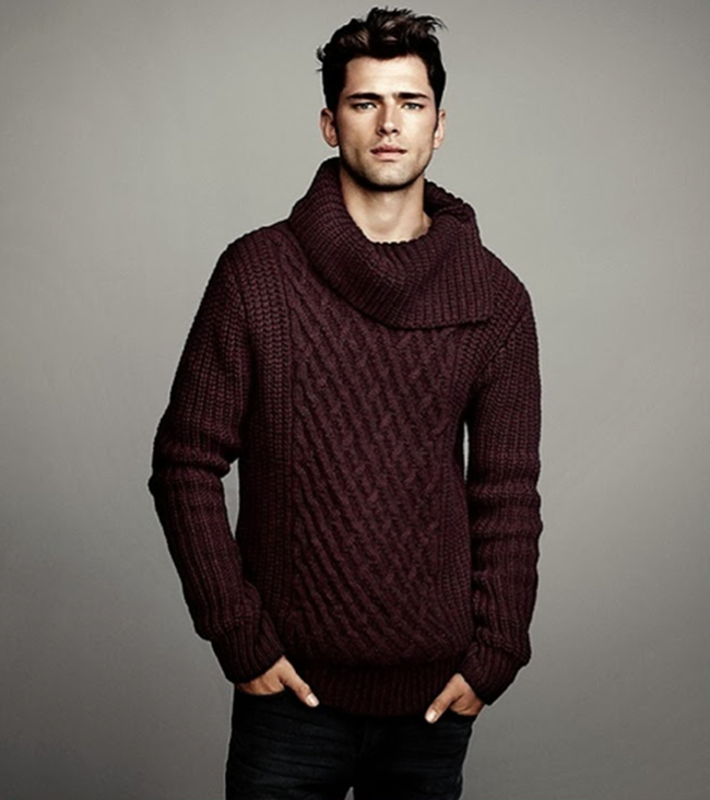 CAMPAIGN- Sean O'Pry in Winter Knits for H&M Fall 2013. www.imageamplified.com, Image Amplified (3)