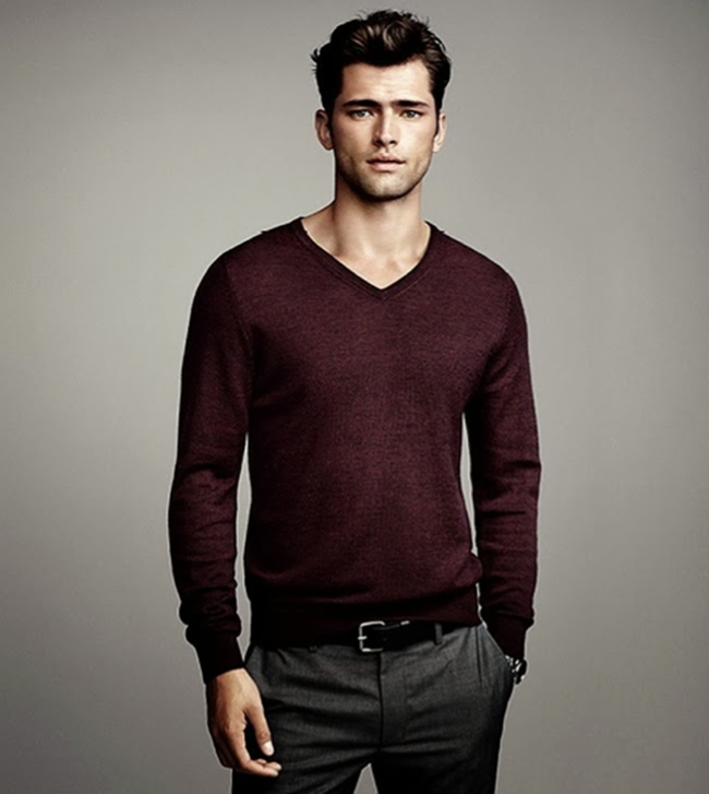 CAMPAIGN- Sean O'Pry in Winter Knits for H&M Fall 2013. www.imageamplified.com, Image Amplified (5)