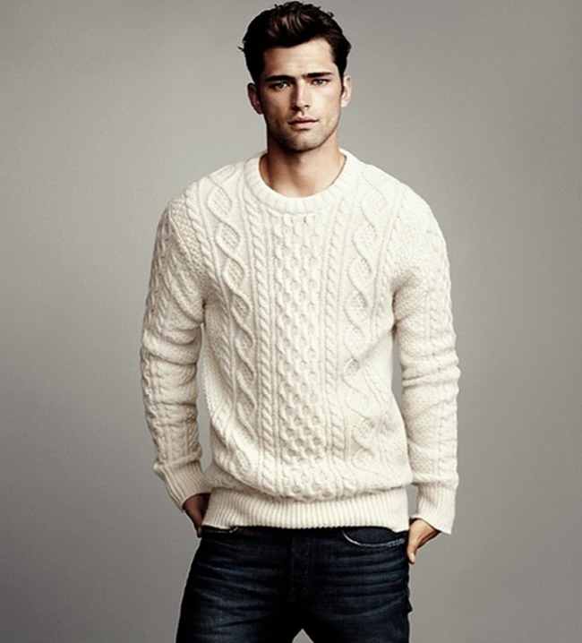 CAMPAIGN- Sean O'Pry in Winter Knits for H&M Fall 2013. www.imageamplified.com, Image Amplified (2)