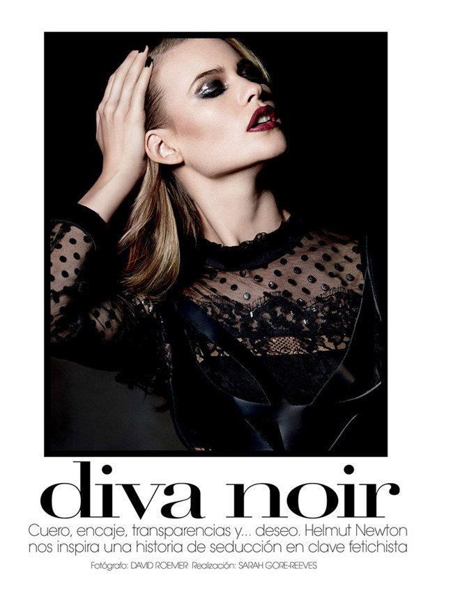 VOGUE MEXICO- Behati Prinsloo in Diva Noir by David Roemer. Sarah Gore Reeves, November 2013, www.imageamplified.com, Image Amplified (6)