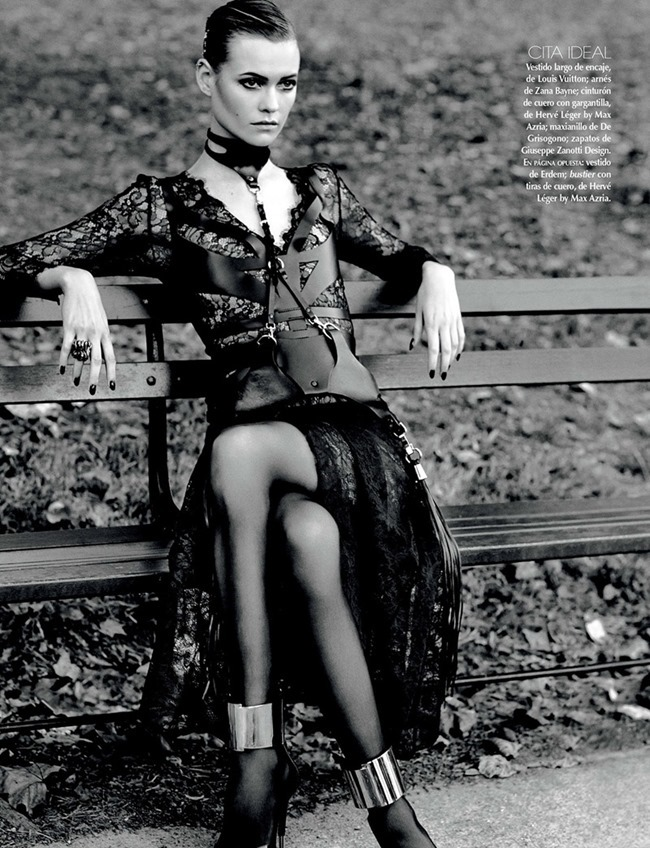 VOGUE MEXICO- Behati Prinsloo in Diva Noir by David Roemer. Sarah Gore Reeves, November 2013, www.imageamplified.com, Image Amplified (2)