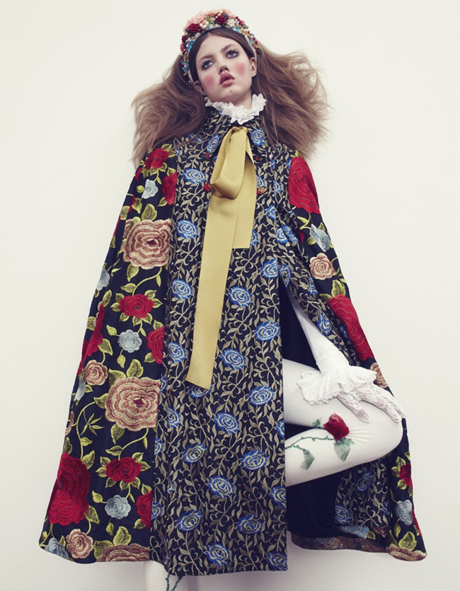 VOGUE JAPAN- LIndsey Wixson in The Anastasia of Winter by Emma Summerton. Giovanna Battaglia, December 2013, www.imageamplified.com, Image amplified (11)
