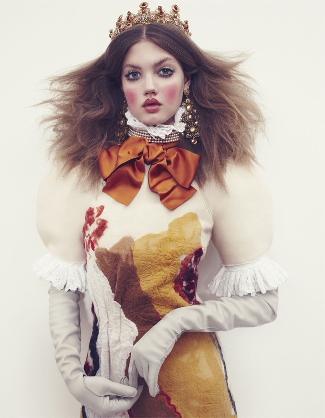VOGUE JAPAN- LIndsey Wixson in The Anastasia of Winter by Emma Summerton. Giovanna Battaglia, December 2013, www.imageamplified.com, Image amplified (4)