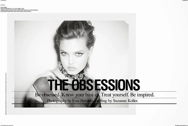 SELF SERVICE MAGAZINE- Lindsey Wixson in The Obsessions by Ezra Petronio. Suzanne Koller, Fall 2013, www.imageamplified.com, Image Amplified