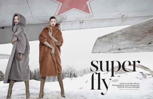 W MAGAZINE- LIndsey Wixson & Ashleigh Good in Super Fly by Emma Summerton. Giovanna Battaglia, November 2013, www.imageamplified.com, Image Amplified (2)