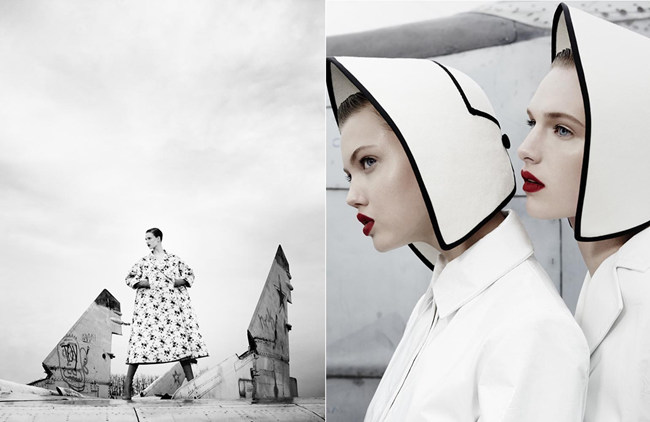 W MAGAZINE- LIndsey Wixson & Ashleigh Good in Super Fly by Emma Summerton. Giovanna Battaglia, November 2013, www.imageamplified.com, Image Amplified (4)