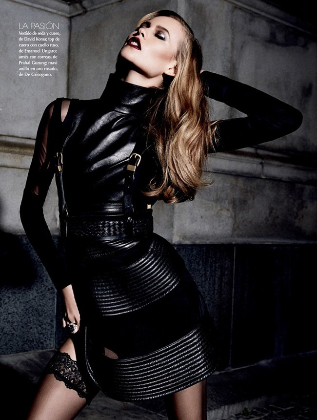 VOGUE MEXICO- Behati Prinsloo in Diva Noir by David Roemer. Sarah Gore Reeves, November 2013, www.imageamplified.com, Image Amplified (5)