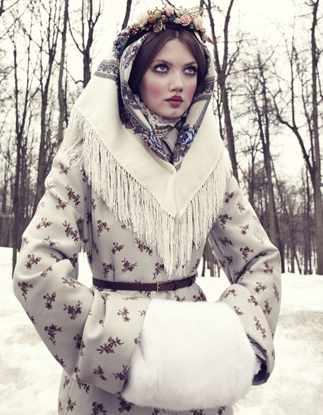 VOGUE JAPAN- LIndsey Wixson in The Anastasia of Winter by Emma Summerton. Giovanna Battaglia, December 2013, www.imageamplified.com, Image amplified (8)