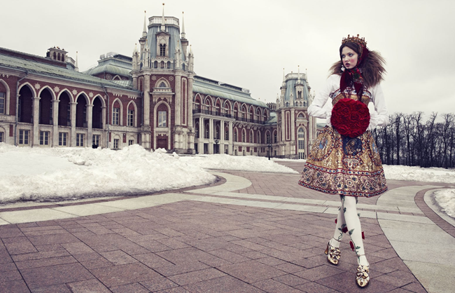 VOGUE JAPAN- LIndsey Wixson in The Anastasia of Winter by Emma Summerton. Giovanna Battaglia, December 2013, www.imageamplified.com, Image amplified (5)