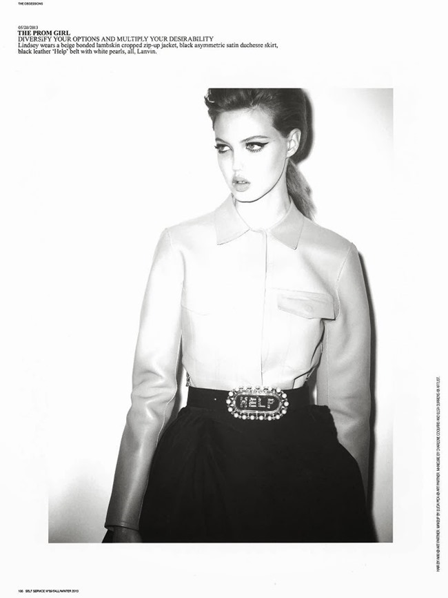 SELF SERVICE MAGAZINE- Lindsey Wixson in The Obsessions by Ezra Petronio. Suzanne Koller, Fall 2013, www.imageamplified.com, Image Amplified (3)