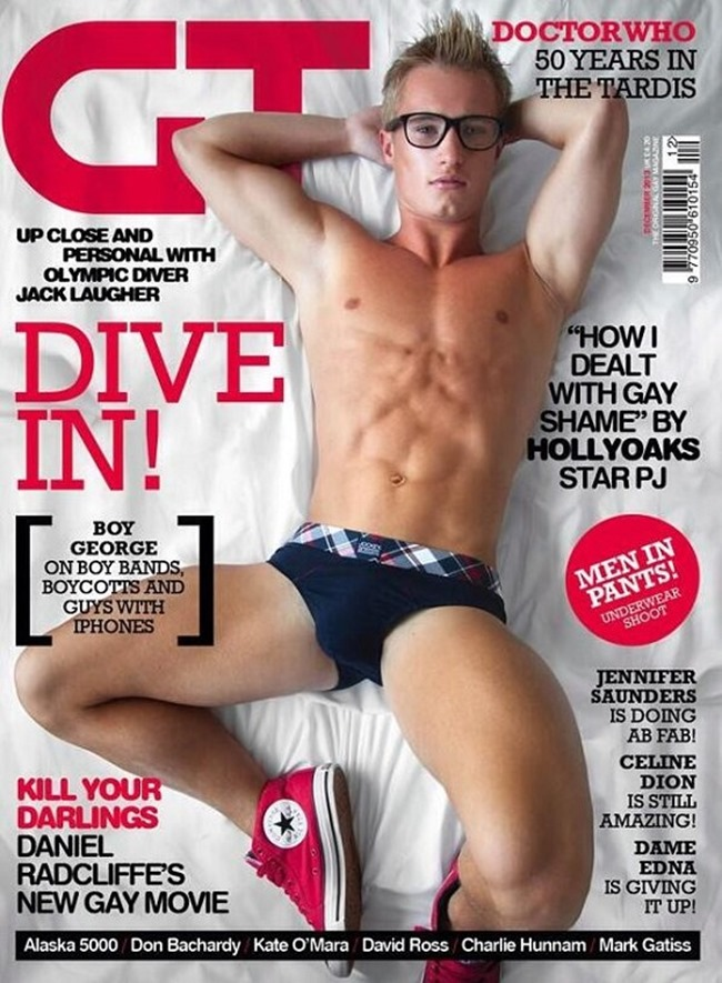 MASCULINE DOSAGE- Jack Laugher for Gay Times Magazine, Fall 2013, www.imageamplified.com, Image Amplified