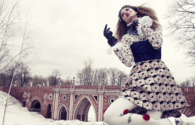 VOGUE JAPAN- LIndsey Wixson in The Anastasia of Winter by Emma Summerton. Giovanna Battaglia, December 2013, www.imageamplified.com, Image amplified (9)