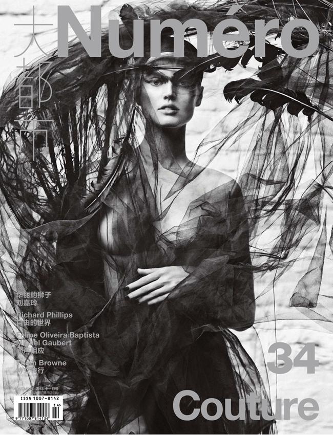 NUMERO CHINA- Toni Garrn by Txema Yeste. Tim LIm, November 2013, www.imageamplified.com, Image Amplified