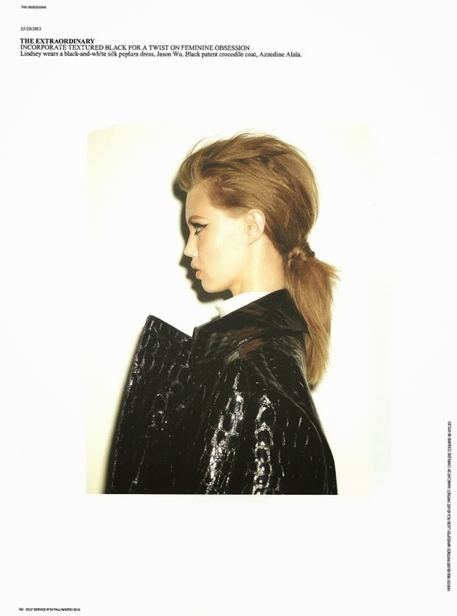 SELF SERVICE MAGAZINE- Lindsey Wixson in The Obsessions by Ezra Petronio. Suzanne Koller, Fall 2013, www.imageamplified.com, Image Amplified (5)