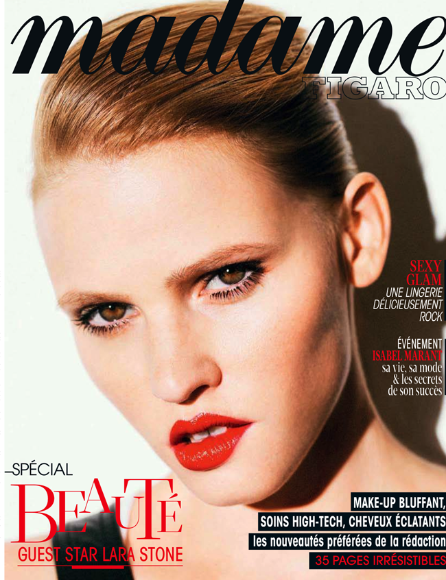 MADAME FIGARO MAGAZINE- Lara Stone by Nico Bustos. Cecile Martin, October 2013, www.imageamplified.com, Image Amplified