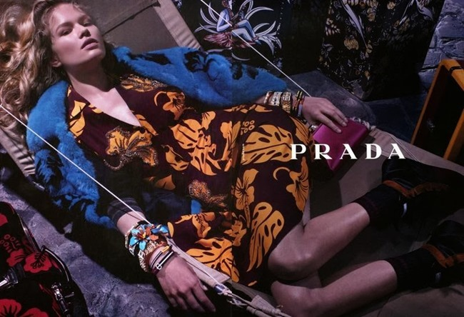 CAMPAIGN- Anna Ewers & Cameron Russell for Prada Resort 2014 by Steven Meisel. www.imageamplified.com, Image Amplified (2)