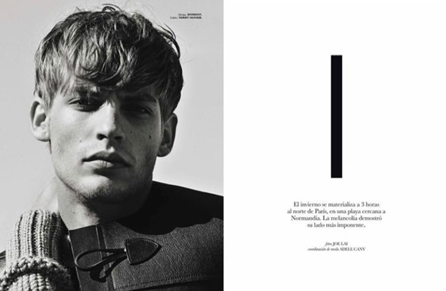 ELLE MAN MEXICO- Baptiste Radufe by Joe Lai. Adele Cany, Fall 2013, www.imageamplified.com, Image Amplified